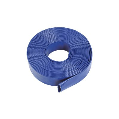 Blue PVC Lay Flat Hose 4Bar