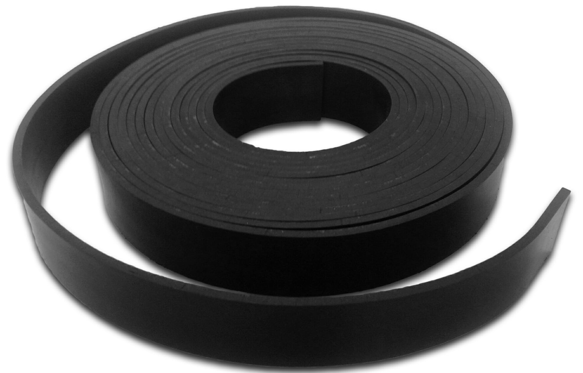Thick rubber strip