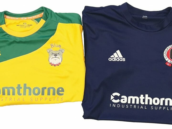 Camthorne Sponsors Bentilee Bulldogs Blue